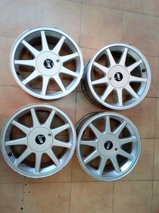 Llantas Toyota TTE de 16 pulgadas