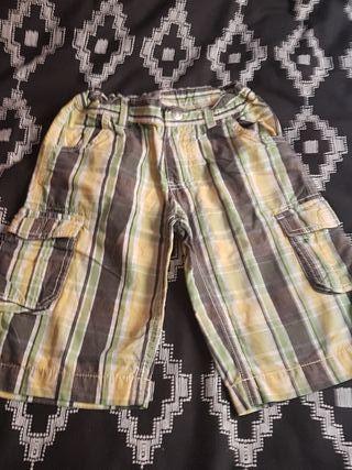 pantalon corto niño