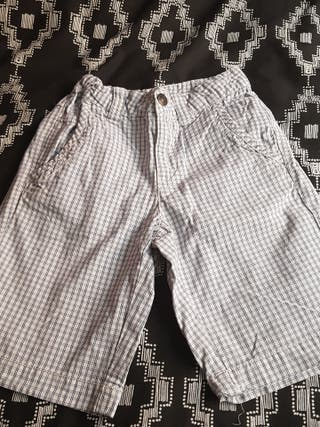 pantalon corto niño benetton