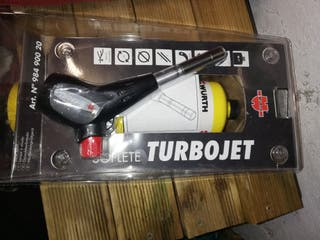 soplete turbo Jet de wurt