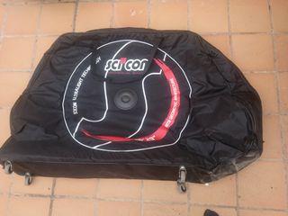 Bolsa de viaje para bicicleta Scicon