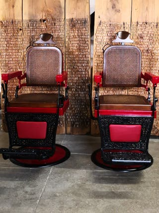 sillones barbero triumph