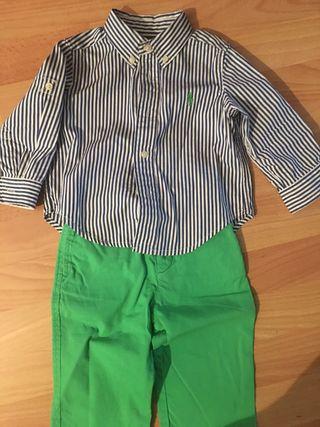 camisa y pantalon RALPH LAUREN