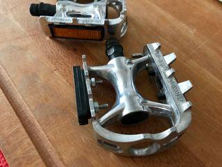Pedales bicicleta Wellgo aluminio