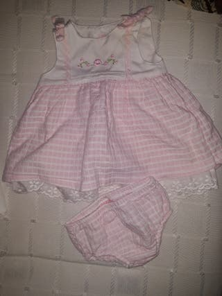 vestido bebe 1 mes mayoral