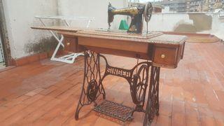 maquina coser singer antica 1912