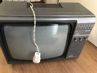 Televisor philips antiguo