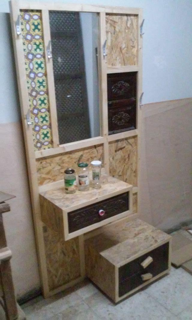 Muebles de entrada con perchero free loft pas de amrica perchero de hierro forjado gancho de - Mueble perchero entrada ...