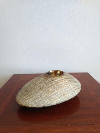 Porta vela de cerámica