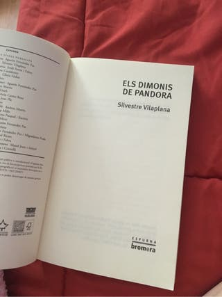 Libro Els dimonis de Pandora