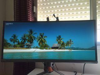 "Monitor gaming curvo ASUS ROG Swift PG348Q: 34"""