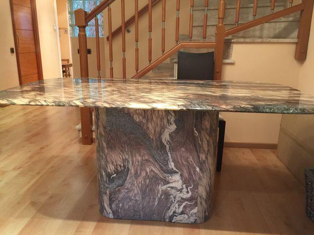 Mesa de marmol para comedor de segunda mano por 100 € en Sant Just ...
