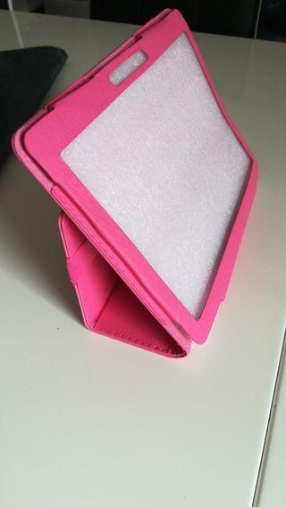 funda table color rosa