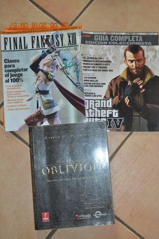 Guía Oblivion the elder scrolls inglés +