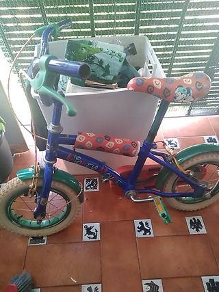 Bicicleta Niño Mickey Mouse Disney