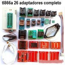 PROGRAMADOR TL866A + ADAPTADORES full