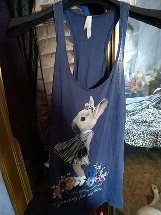 camiseta de tirantes chica,mujer Stradivarius