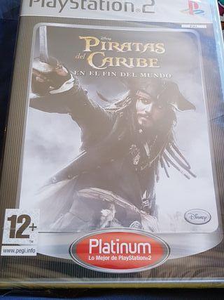 Juego ps2 piratas del Caribe