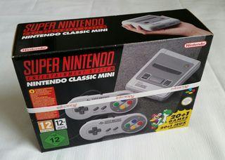 Nintendo Snes Mini nueva