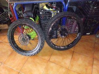 vendo ruedas de 50cc