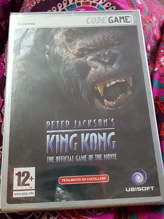 Juego pc king kong nuevo y precintado