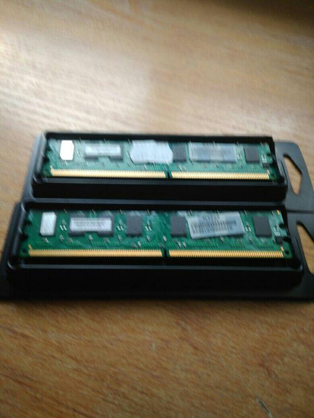 Memoria ram ddr2 a 4200 de 512mb