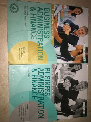 Libro ingles CFGS Adm y finanz