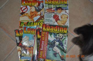 Revistas LOADING de PSX 1-12 + 2 extras