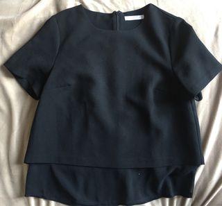 Camiseta negra MANGO