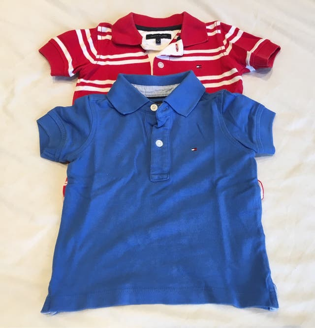 2 Polos bebé - Tommy Hilfiger