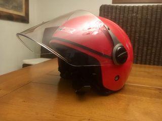 Casco infantil de moto