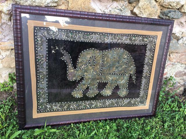 Quadre tapis India