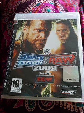 Ps3 smack down vs raw nuevo y precintado