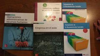 libros administración y gestion segundo curso