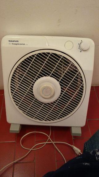 ventilador 2 y 1 calefactor de aire.