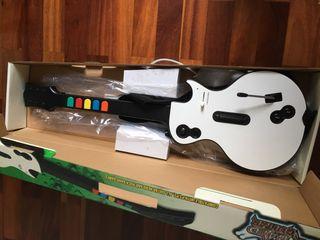 Guitarra y juegos PS3