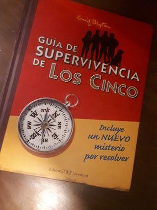 Libro Guía de supervivencia de Los Cinco