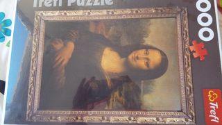 Puzle Mona Lisa NUEVO A ESTRANAR 1.000 piezas
