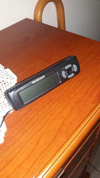 termómetro digital para coche