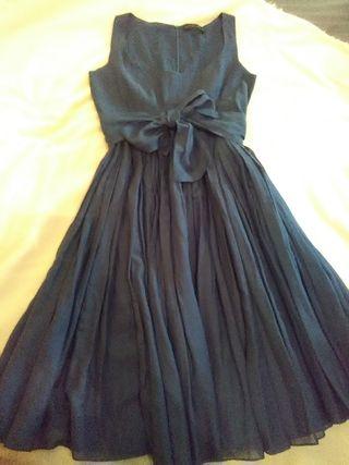 vestido purificacion garcia talla 42.azul