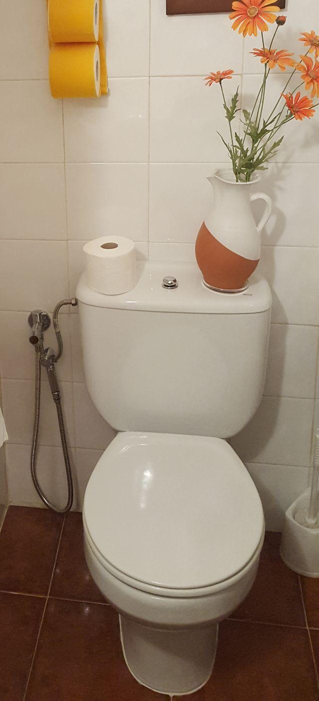 grifo sustituto del bidet para higiene ntima de segunda