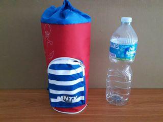 bolsa nevera botella de 2 litros Rojo Azul. artícu