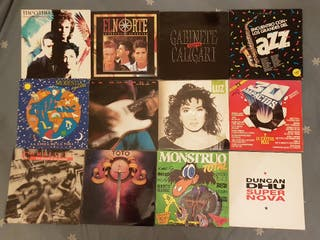 LOTE 19 DISCOS LP VINILO,MUSICA ESPAÑOLA,VER FOTOS