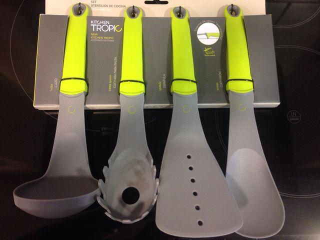 Set utensilios de cocina diseño de segunda mano por 12 € en ...