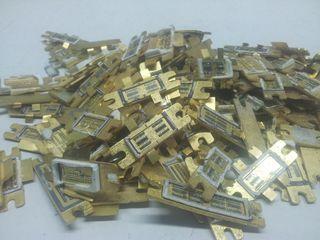 Reciclamos Transistores (Dorado)