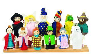 Marionetas de dedo