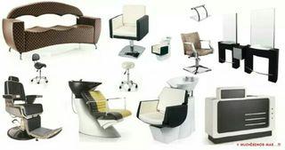 Mobiliario de peluqueria y estetica