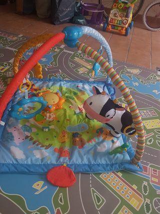 Manta infantil de actividades