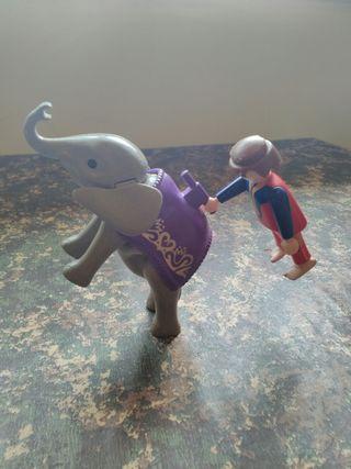 playmobil elefante circo