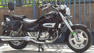 Vendo hyosung aquila 2011 125cc perfecto estado